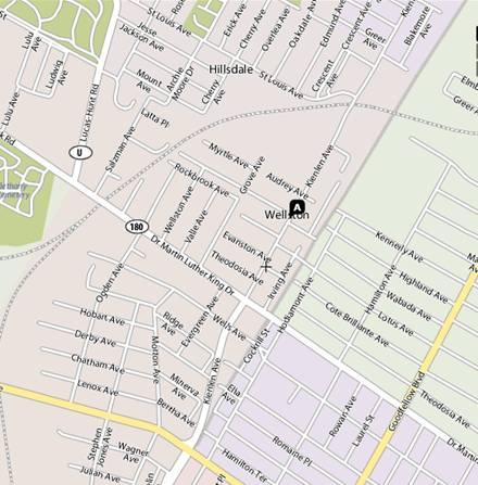 Street Name Map