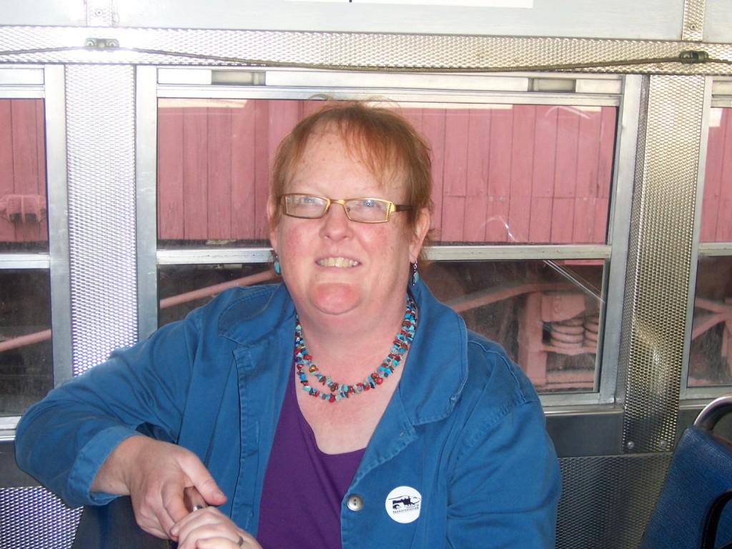 Linda on Streetcar