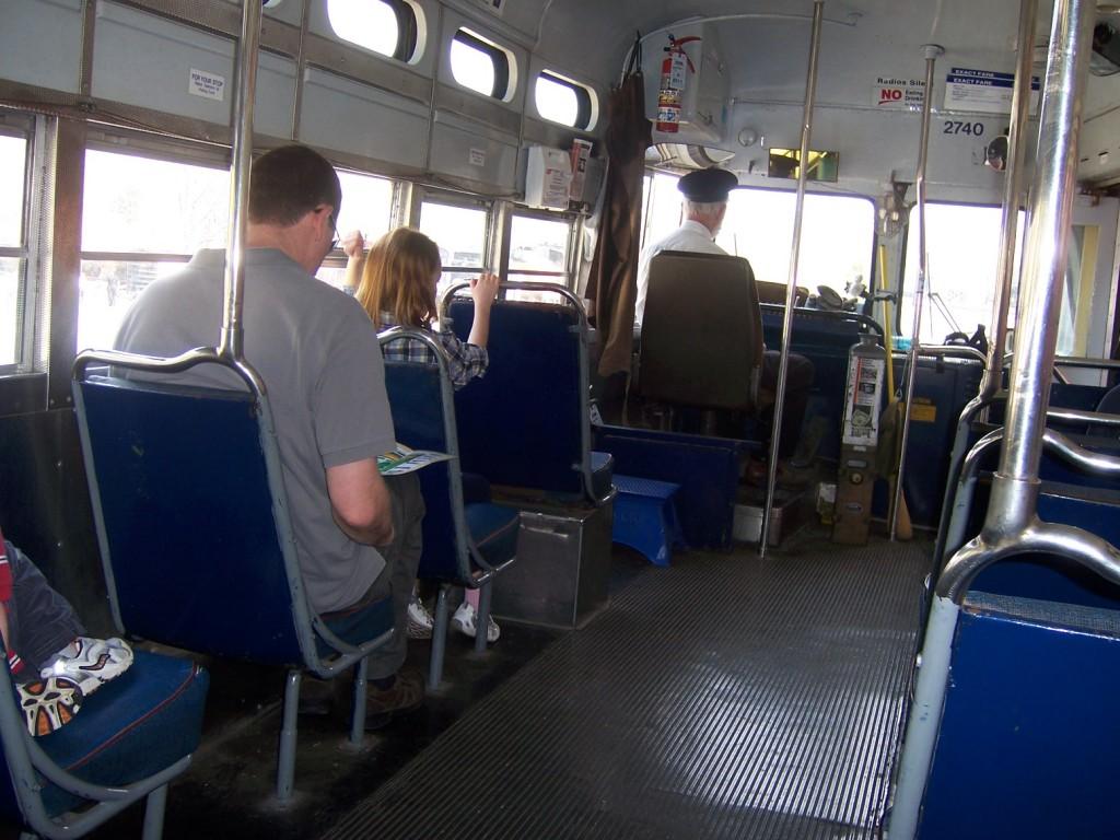 Passengers on Streetcar