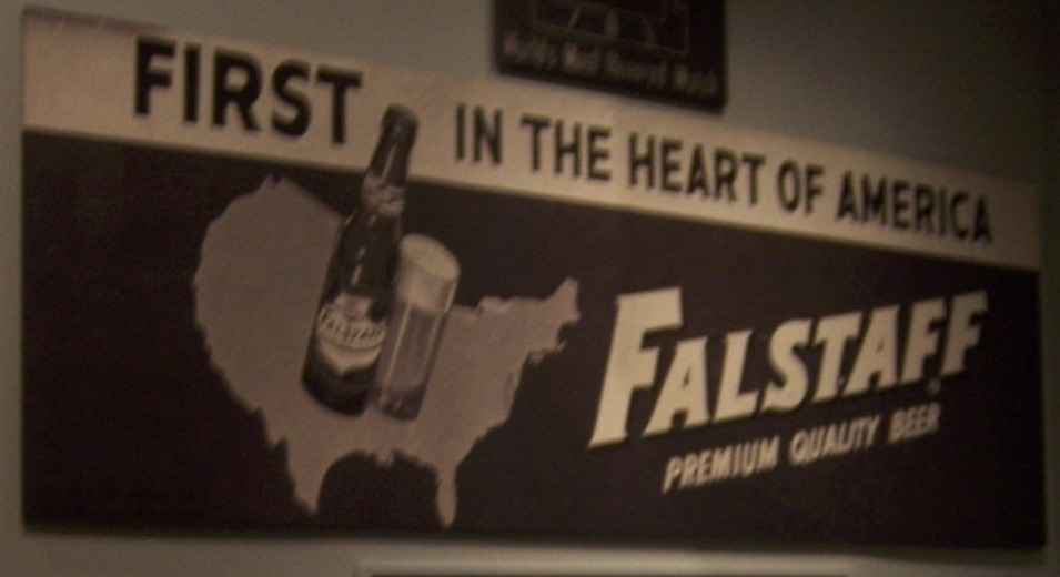 Missouri Historical Society Falstaff Sign